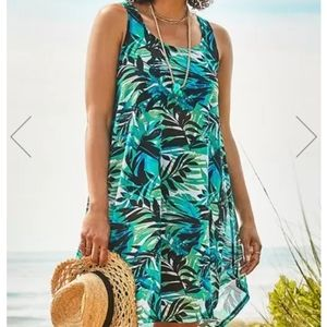 Swimsuit tunic cover up
